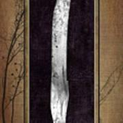 Carving Set Knife Triptych 2 Art Print