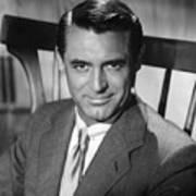 Cary Grant (1904-1986) Art Print by Granger