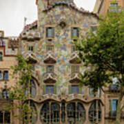 Casa Batllo In Barcelona, Spain Art Print