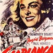 Casablanca B Art Print