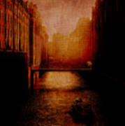Casanova's Waterway Art Print