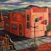 Casas Rosadas Art Print