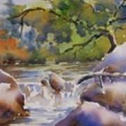 Cascade 2 Art Print