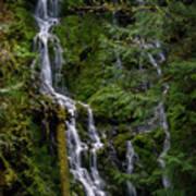 Cascade Falls Art Print