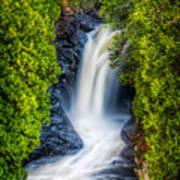 Cascade - Lower Falls Art Print