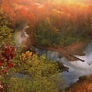 Cascade Valley Sunrise Art Print