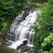 Cascadilla Waterfalls Cornell University Ithaca New York 03 Art Print