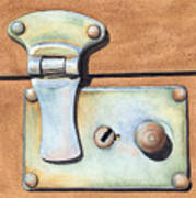 Case Latch Art Print
