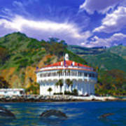 Casino From The Water Art Print