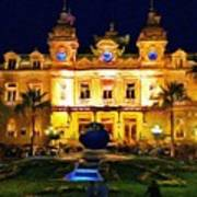 Casino Monte Carlo Art Print by Jeff Kolker