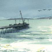 Casitas Pier 3 Art Print