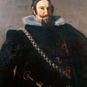 Caspar De Guzman Count Of Olivares Diego Rodriguez De Silva Y Velazquez Art Print