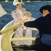 Cassatt: Boating, 1893-4 Art Print by Granger