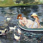 Cassatt: Summertime, 1894 Art Print