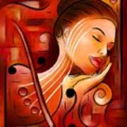 Casselopia - Violin Dream Art Print