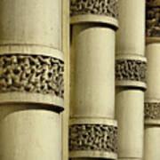 Cast Iron Columns Art Print