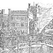 Castello Di Miramare Art Print