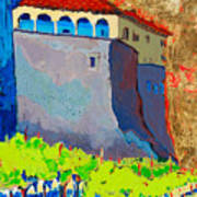 Castello Di Villafranca Art Print