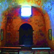Castillo De San Marcos Chapel Art Print