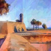 Castillo Rampart Art Print