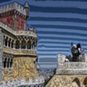 Castle 0f Lurid Dreams Art Print