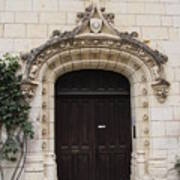 Castle Entrance Door Art Print