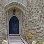 Castle Entrance Art Print by Suzanne Gaff