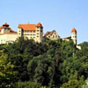 Castle Harburg 3 Art Print