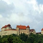Castle Harburg Art Print