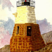 Castle Hill Lighthouse Art Print