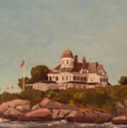 Castle Hill Newport Ri Art Print