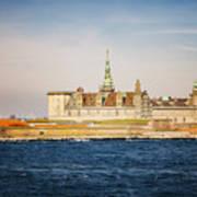 Castle In Helsingor Denmark Art Print