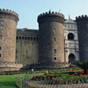 Castle Nuovo Naples Italy Art Print