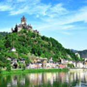 Castle Reichsburg Art Print