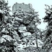 Castle Ruin Flossenbuerg Art Print