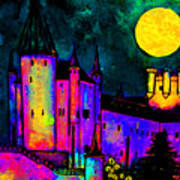 Castle Segovia Art Print