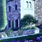 Castle Sestri Levante Art Print