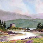 Castle Tioram  Art Print
