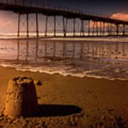 Castles In The Sand Art Print