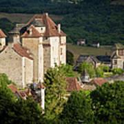Castles Of Curemonte Art Print