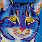 Cat - Lady Spirit Art Print by Alicia VanNoy Call