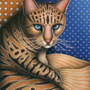 Cat Andrea Art Print