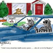 Cat Burglers Art Print