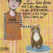 Cat Whisperer Art Print