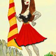 Catalancilla Art Print