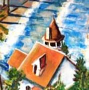 Catalina Cottage Sold Art Print