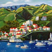 Catalina Island 2 Art Print by Milagros Palmieri
