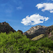 Catalina Mountains In Tucson Arizona Art Print