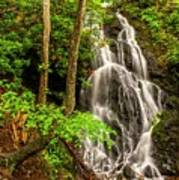 Cataract Falls In Great Smoky Mountains National Park Art Print