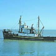 Catch Boat Allen Cody For Del Monte Fishing Co. Taken On July 5  Art Print